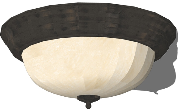...  http://diy.stackexchange.com/questions/20740/how-do-i-remove-a-flush-mounted-ceiling- light-fixture-dome